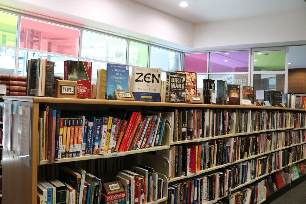 London Public Library Bookshelf
